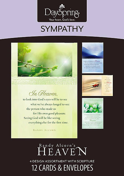 Heaven by Randy Alcorn - Sympathy Boxed Cards - Box of 12