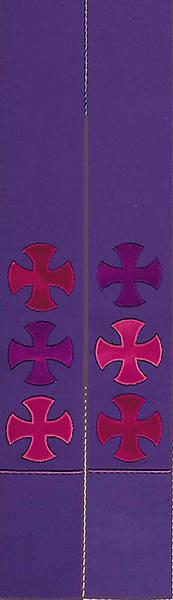 Picture of Purple St Thomas Crosses Stole