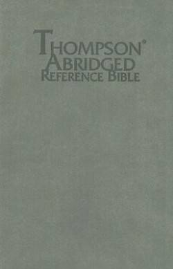 Picture of Thompson Abridged Reference Bible-KJV