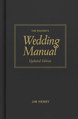 Picture of Pastor's Wedding Manual, Updated Edition