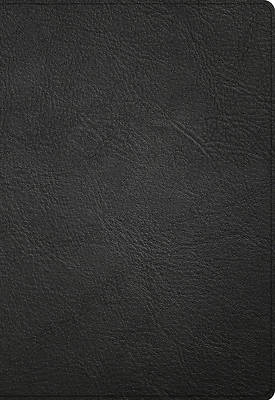 Picture of NASB Super Giant Print Reference Bible, Black Genuine Leather