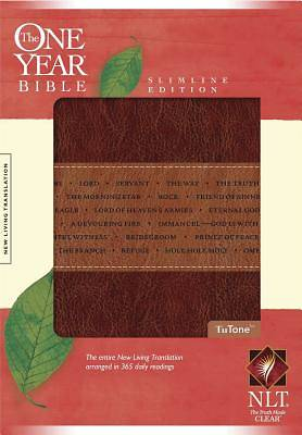 The One Year Bible New Living Translation Slimline Edition