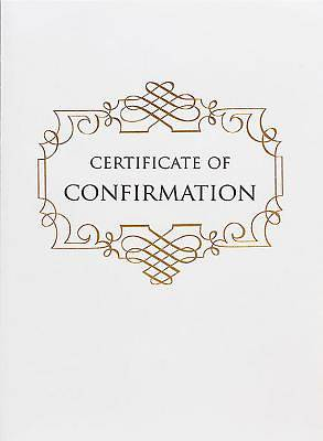 Abingdon Select Collection Confirmation Certificate
