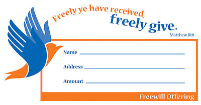 Freewill General Offering Envelope