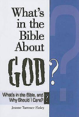Whats in the Bible About God?