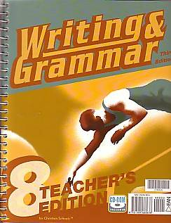 Writing and Grammar 8 Teachers Edition 3rd Edition