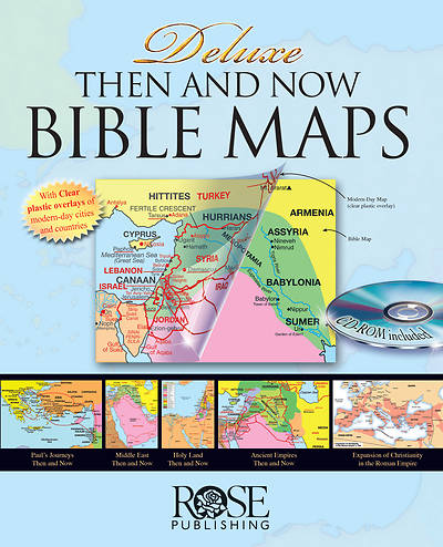 Deluxe Then and Now Bible Map Book (R) [ePub Ebook]