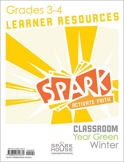 Spark Classroom Grades 3-4 Learner Leaflet Winter Year Green