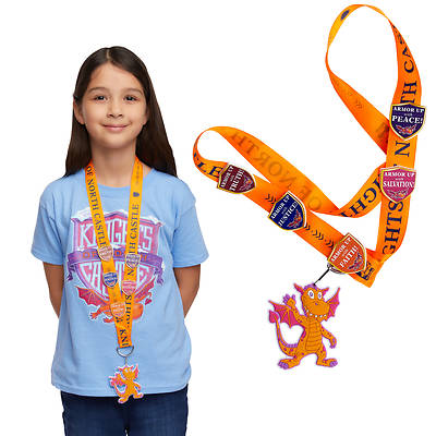 Picture of Vacation Bible School (VBS) 2020 Knights of North Castle Scripture Treasure Lanyard (Pkg of 12)