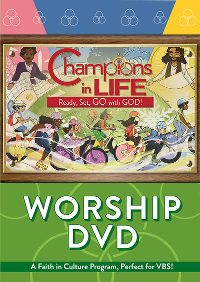 Picture of Vacation Bible School (VBS) 2020 Champions in Life Worship DVD