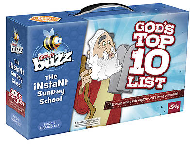 Groups Buzz Grades 1&2 Gods Top 10 List Kit Fall 2013
