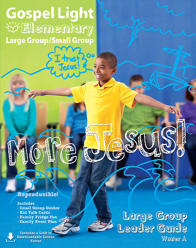 Picture of Gospel Light Large/Small Group Grades 1-4 Leader Guide Year A Winter