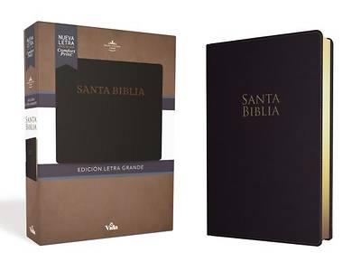 Picture of Rvr60 Santa Biblia Letra Grande, Leathersoft