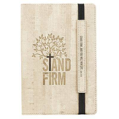 Picture of Journals Lux-Leather Bullet Elastic Closure Stand Firm