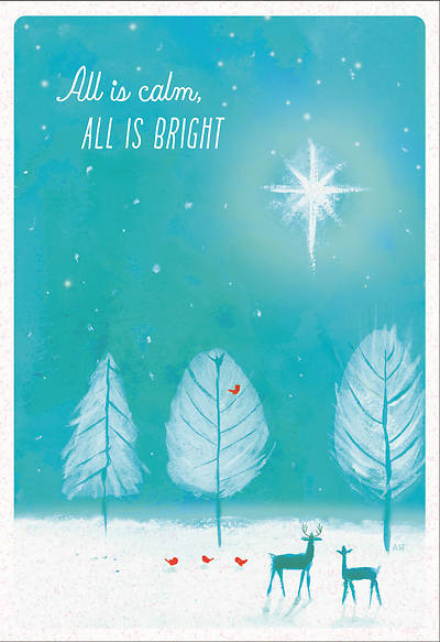All Is Calm, All Is Bright Christmas Card