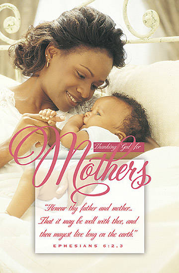 Warner Press Bulletin Heritage Mothers Day (Package of 100)