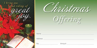 Picture of Great Joy Christmas Offering Envelope ENGLISH