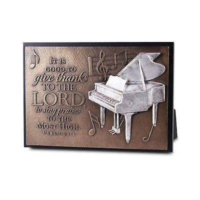 Small Sculpture Plaque - Praise