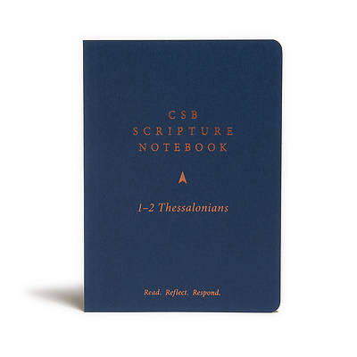 Picture of CSB Scripture Notebook, 1-2 Thessalonians