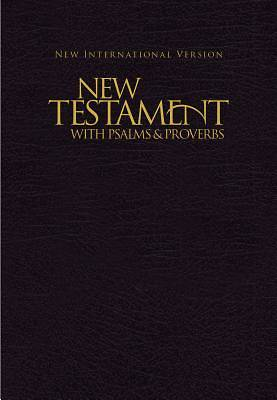 Picture of NIV Pocket New Testament with Psalms and Proverbs - Black