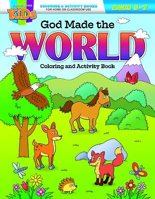 Picture of God Made the World Coloring & Activity Book