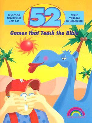 Picture of 52 Games That Teach the Bible