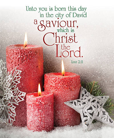 A Saviour, Christ the Lord Christmas Legal Size Bulletin