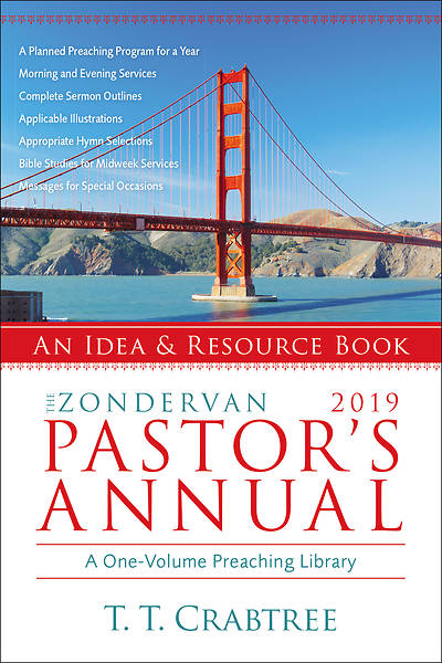 Picture of The Zondervan 2019 Pastor's Annual