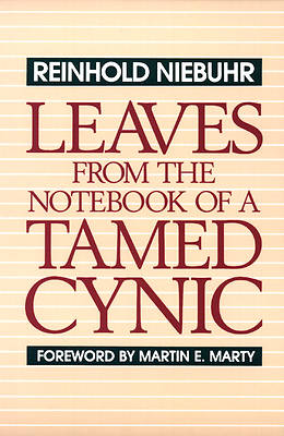Picture of Leaves from the Notebook of a Tamed Cynic