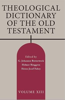 Picture of Theological Dictionary of the Old Testament, Volume XIII