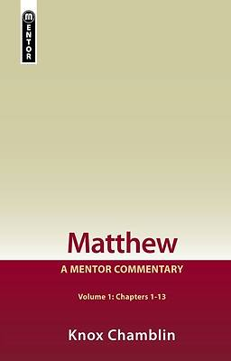 Picture of Matthew Volume 1 (1-13)