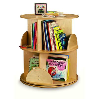 Picture of Whitney Brothers WB0502R Two Level Book Carousel