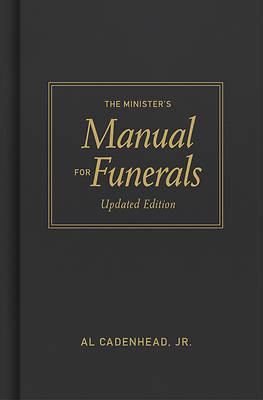 Picture of The Minister's Manual for Funerals, Updated Edition