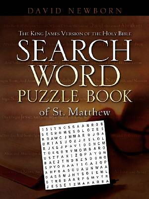 The King James Version of the Holy Bible Search Word Puzzle Book of St. Matthew