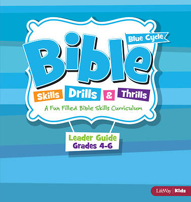 Picture of Bible Skills Drills & Thrills Grades 4-6 Blue Cycle Leader Kit