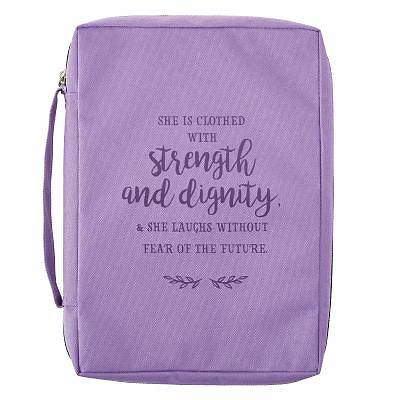 Picture of Bible Cover Large Value Strength and Dignity