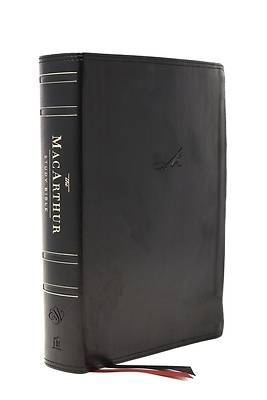 Picture of The Esv, MacArthur Study Bible, 2nd Edition, Leathersoft, Black, Thumb Indexed