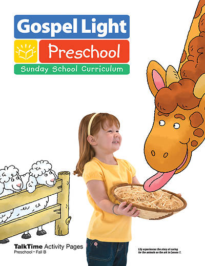 Picture of Gospel Light Preschool Age 2-3 Talk Time Activity Page Year B Fall