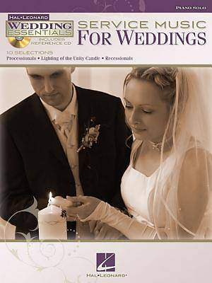 Service Music for Weddings With CD (Audio)