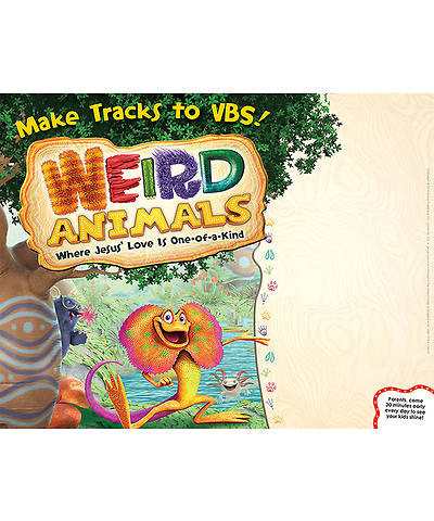 Picture of Group VBS 2014 Weird Animals Publicity Posters 5pk