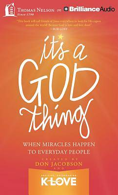 Picture of It's a God Thing Audiobook - CD