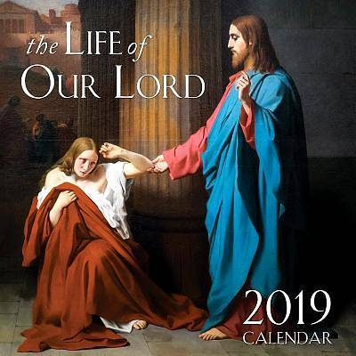 2019 Life of Our Lord Catholic Wall Calendar
