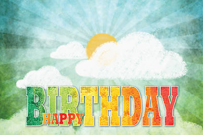 Picture of Celebrate Wonder Happy Birthday Postcard (Pkg of 25)