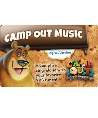 Vacation Bible School (VBS) 2017 Camp Out Music Download Card