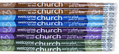 Welcome to Our Church Pencils (Package of 12)