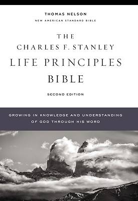 Picture of Nasb, Charles F. Stanley Life Principles Bible, 2nd Edition, Hardcover, Comfort Print