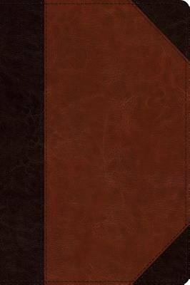 Picture of ESV Journaling New Testament, Inductive Edition (Trutone, Brown/Cordovan, Portfolio Design)