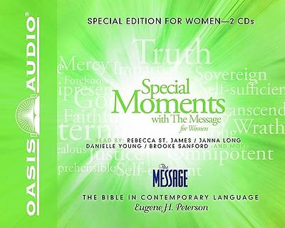 Special Moments with The Message for Women CD