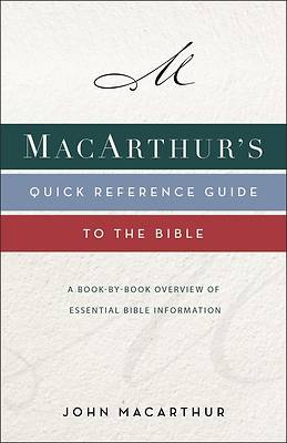 Picture of Macarthur's Quick Reference Guide to the Bible