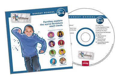 Groups FaithWeaver Grades 3 & 4 CD Winter 2012 13